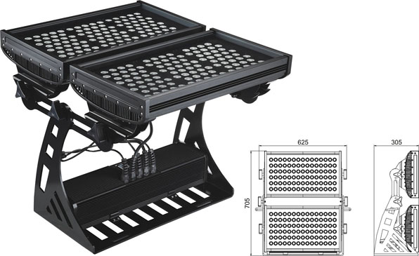 ዱካ dmx ብርሃን,ግንባር ​​ቀለም,500W መረባ IP65 LED flood flood 2, LWW-10-206P, ካራንተር ዓለም አቀፍ ኃ.የተ.የግ.ማ.