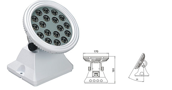 Led drita dmx,Dritat e rondele me ndriçim LED,LWW-6 përmbytje LED 1, LWW-6-18P, KARNAR INTERNATIONAL GROUP LTD