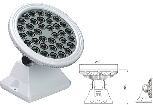 ዱካ dmx ብርሃን,የመኪና ጎርፍ,25 ዋ 48 ዋ LED flood flood 2, LWW-6-36P, ካራንተር ዓለም አቀፍ ኃ.የተ.የግ.ማ.